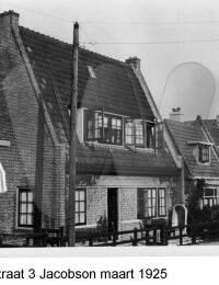 Marnixstraat 3, Jacobson maart 1925