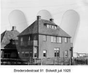 Brederodestraat 91, Bolwidt, Juli 1928