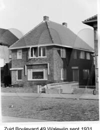 Zuid Bouelvard 49, Walewijn, September 1931
