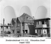 Brederodestraat 11-113, Wesselius - Zwart, maart 1933