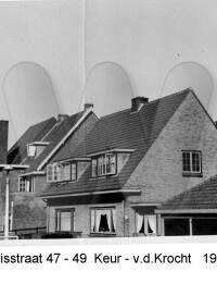 Marisstraat 47-49, Keur - vd. Krocht, 1933