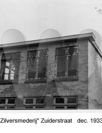 Zilversmederij, Zuiderstraat, December 1933
