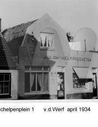 Schelpenplein 1, vd. Werf, April 1934