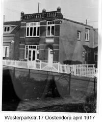 Westerparkstraat 17, Oostendorp, April 1917