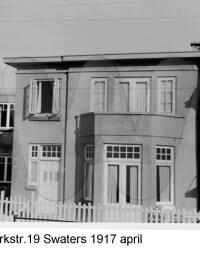 Westerparkstraat 19 Swaters April 1917