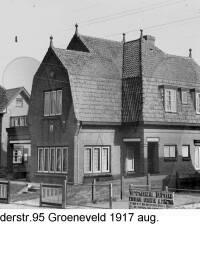 Brederodestraat 95, Groeneveld Augustus 1917