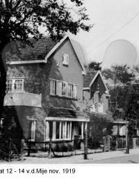 Brederodestraat 12-14 vd. Mije, November 1919
