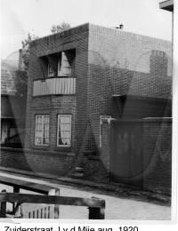 Zuiderstraat, J. vd. Mije Augustus 1920