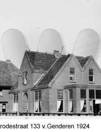 Brederodestraat 133, v. Genderen, 1924